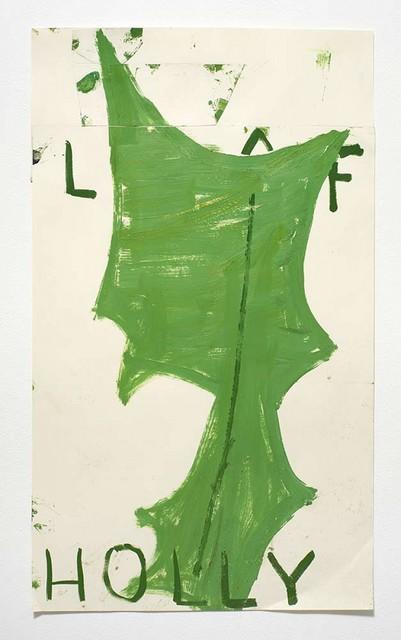 , 'Holly Leaf ,' 2015, GNYP Gallery