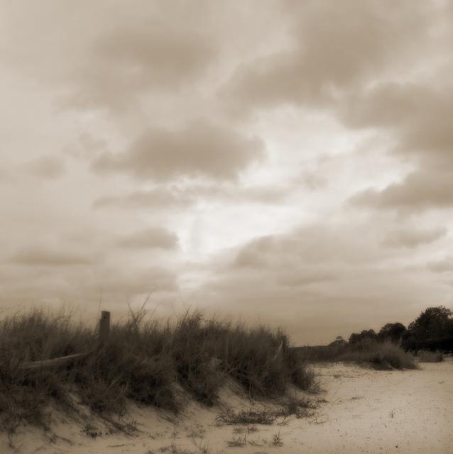 , 'Beach at Dusk ,' , Paraphé