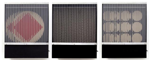 , 'formes virtuelles par deplacement du spectateur ,' 1966, Galeria Nara Roesler