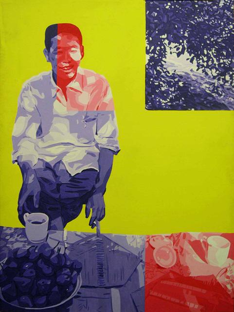 , 'En Chine à Lo Yang,' 1974, Jeanne Bucher Jaeger