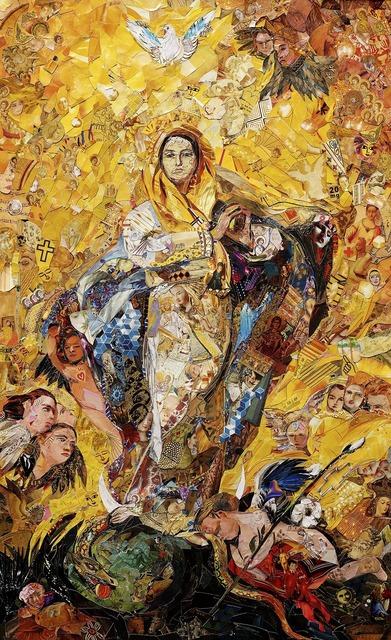 Vik Muniz, 'The Immaculate Conception, after Giovanni Battista Tiepolo', 2018, galerie nichido / nca   nichido contemporary art
