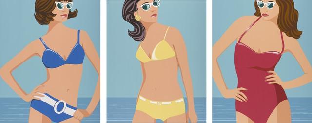 , 'Summer Girls (triptych),' 2017, Caldwell Snyder Gallery