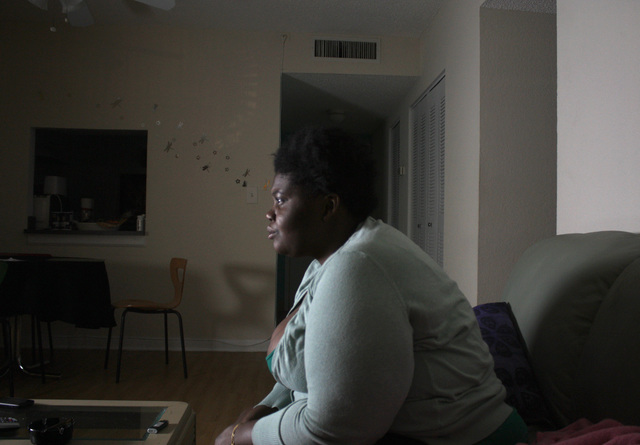 , 'Watching TV Living with Terisha,' 2011, Spinello Projects