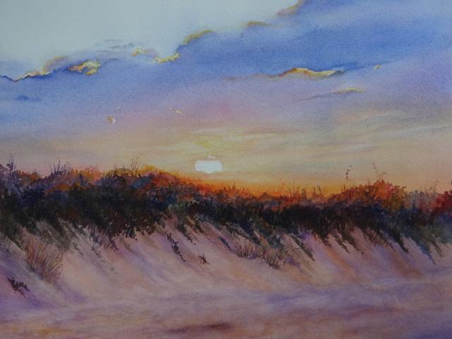 , 'Sunset Glow,' 2017, Peninsula Gallery