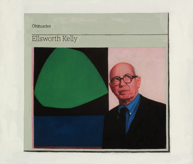 , 'Obituary: Ellsworth Kelly,' 2016, Charlie Smith London