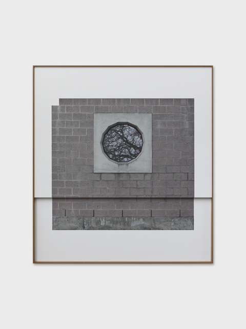 , 'The Overhang,' 2017, Galerie Eva Presenhuber