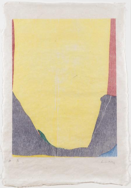, 'East and Beyond,' 1973, Leslie Sacks Gallery