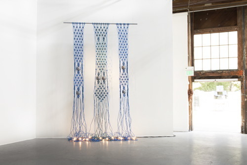 Dana Hemenway, 'Untitled (extension cords - blue) ', 2013, Eleanor Harwood Gallery