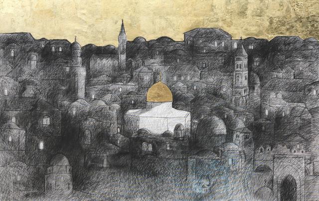 , 'Jerusalem #3,' 2018, Zawyeh Gallery