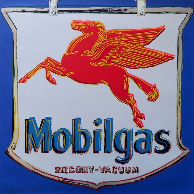 , 'Mobilgas,' 1985, Gormleys Fine Art