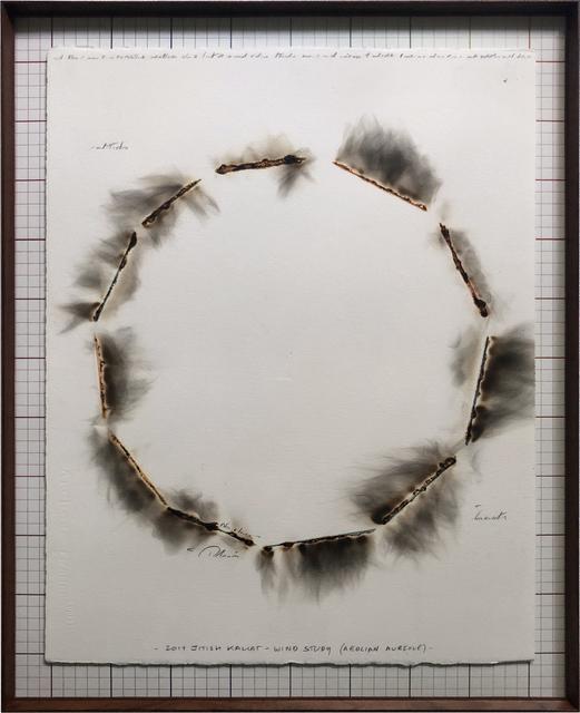 Jitish Kallat, 'Wind Study (Aeolian Aureole)', 2019, Nature Morte