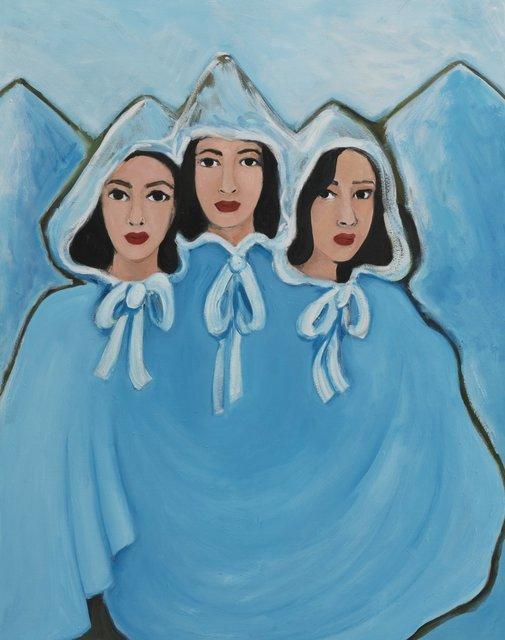, 'Three Graces,' 2018, CFHILL