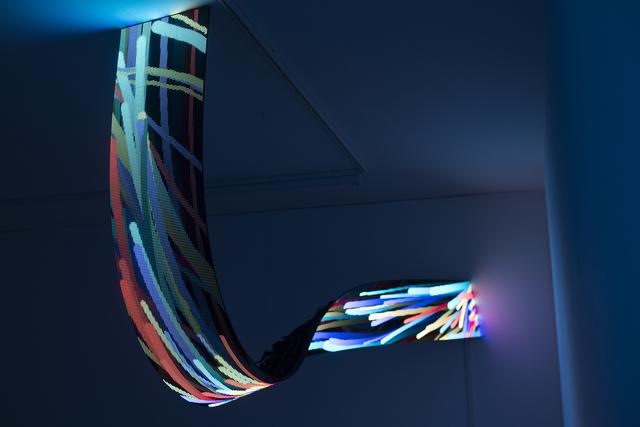 Daniel Canogar, 'Flow I', 2018, bitforms gallery