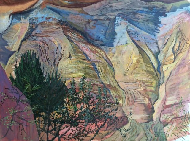 , 'Pigment of Rustrel,' 2015, Gallery NAGA