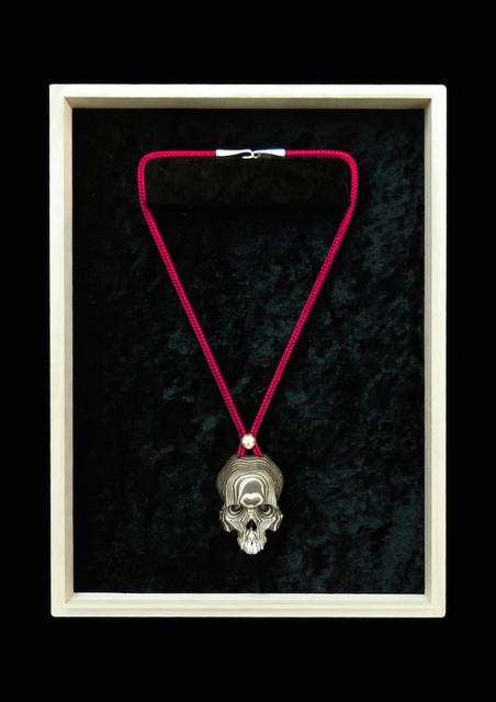 , 'Mokumegane Skull Necklace,' 2015, Onishi Gallery