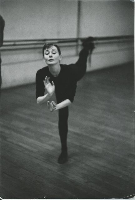 , 'Audrey Hepburn training for funny face,' 1956, °CLAIR Galerie