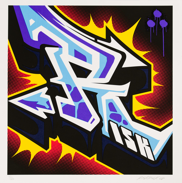 RISK, 'Letter R', 2008, Track 16 Gallery