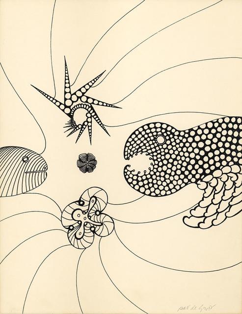 , 'untitled (PdG009),' 1960, Albert Merola Gallery