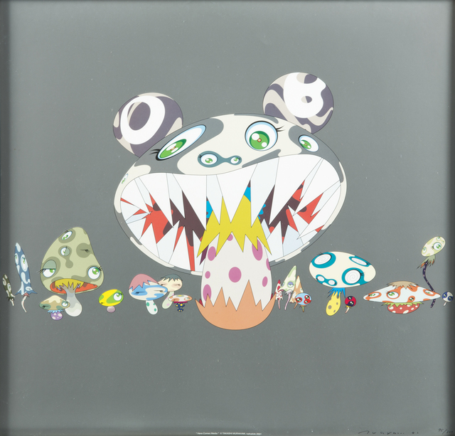 Takashi Murakami, 'Here Comes Media', 2001, Julien's Auctions