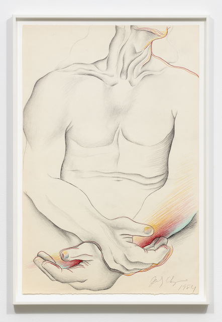, 'Untitled - Male Torso: Frontal,' 1984, Jessica Silverman Gallery