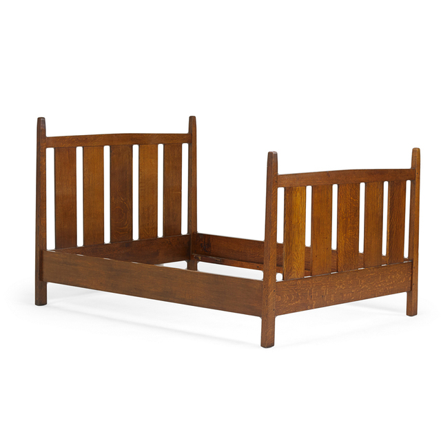 Gustav Stickley, 'Double Bed Frame, Eastwood, NY', ca. 1912, Rago/Wright