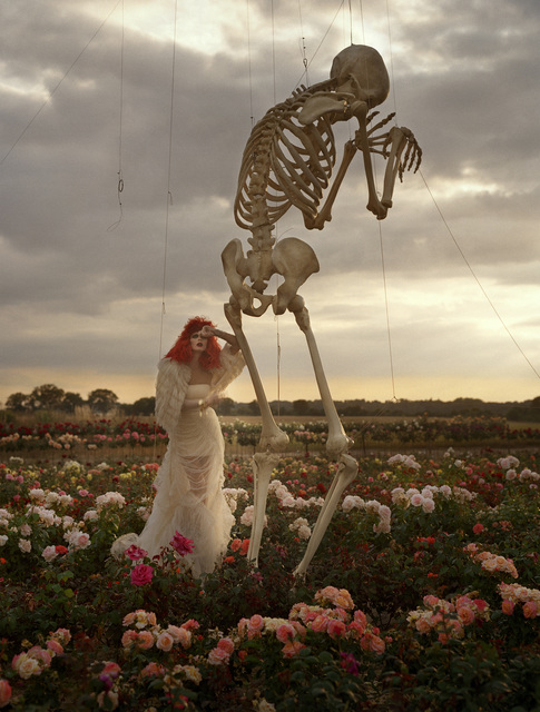 , 'Malgosia Bela and crying skeleton, Cants of Colchester,' 2008, Michael Hoppen Gallery