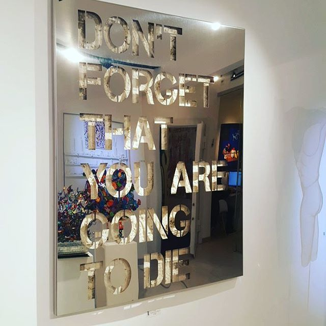 , 'Dont Forget That You Are Going To Die,' 2016, Eden Fine Art