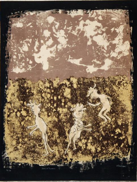 , 'Jeux et Travaux,' 1953, David Richard Gallery