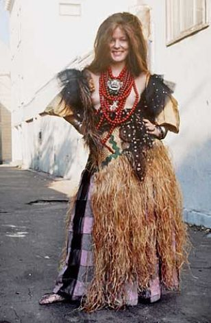 Fayette Hauser in Cosmic Gypsy Outfit, photo by Clay Geerdes