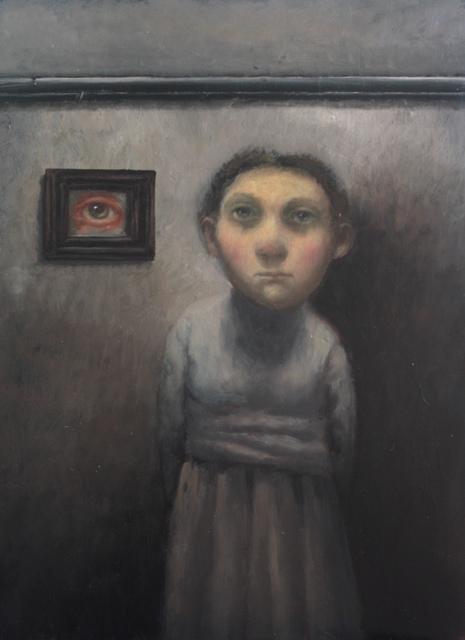 , 'The Eye Painting,' 2016, bo.lee gallery
