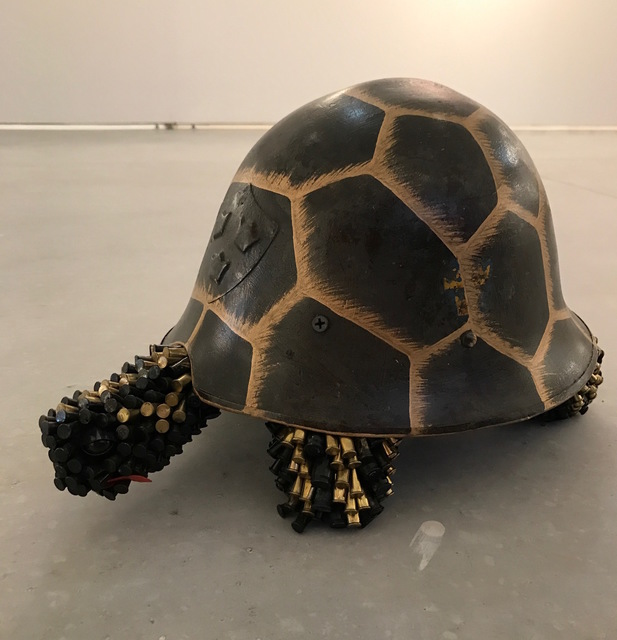 , 'Black and Gold Turtle,' 2017, Adelson Galleries