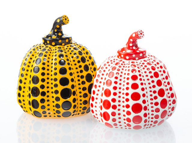 Yayoi Kusama, 'Red and Yellow Pumpkin (two works)', Heritage Auctions