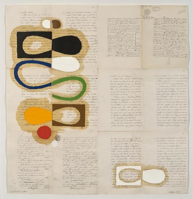 , 'Reconstrução 12 Octobre,' 2008, Gustavo Rebello Arte