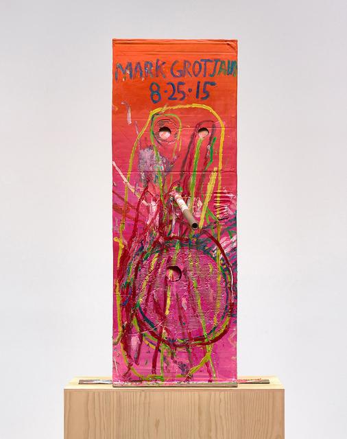 , 'Untitled (Pink Cosco I Mask M40.a),' 2015, Gagosian