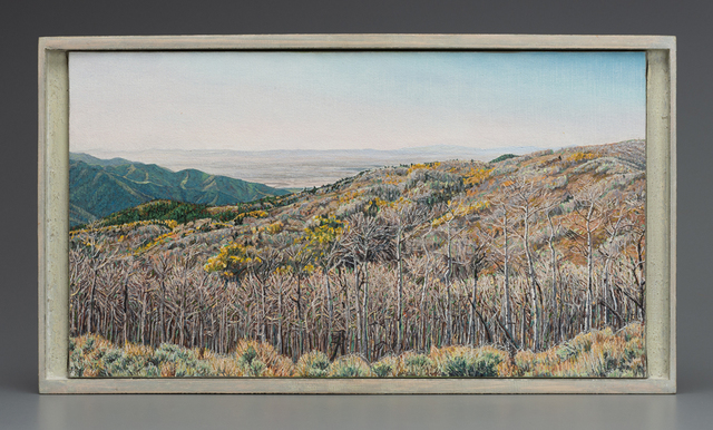, 'A View of the Sevier Desert from the Pahvant Range, Utah,' 2005, Valley House Gallery & Sculpture Garden