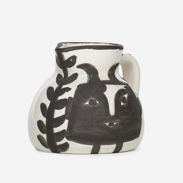 Pablo Picasso, 'Tête Carrée pitcher', 1953, Rago