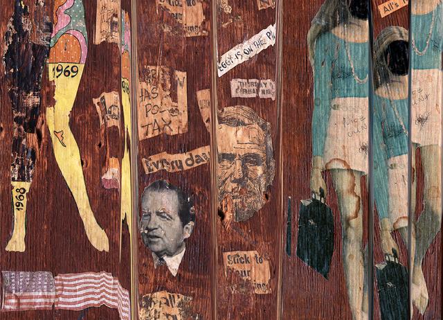 , '1969, Nixon, Nice Cunt,' 2016, Elizabeth Houston Gallery