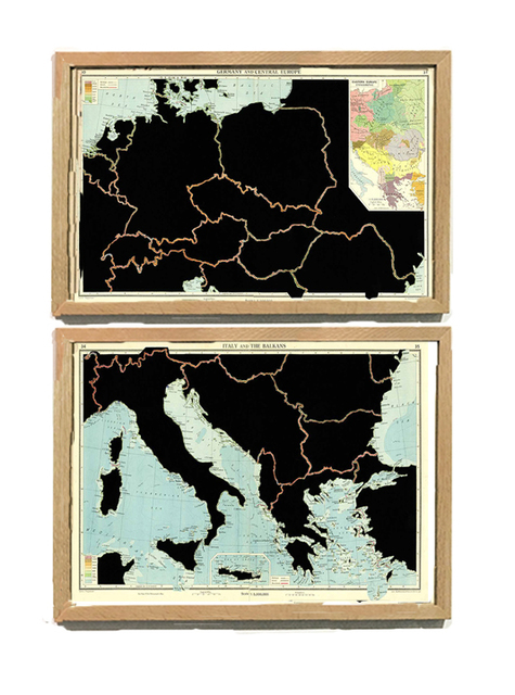 , 'Serie: The Comparative Atlas. London 1948 GERMANY AND CENTRAL EUROPE, ITALY AND THE BALKANS,' 2017, Aura