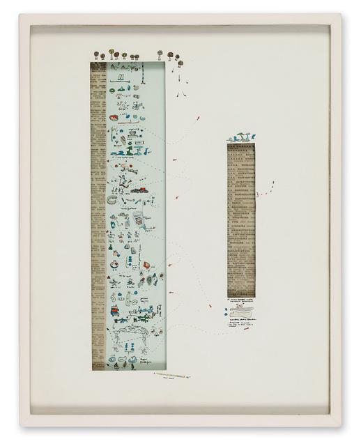 , 'La lega del cane è ente morale,' 1965, Galerie Michael Hasenclever