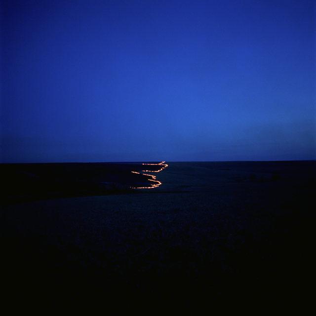 Larry Schwarm, 'Line of fire east of Peyton Creek, Chase County, Kansas', 2005, Robert Koch Gallery