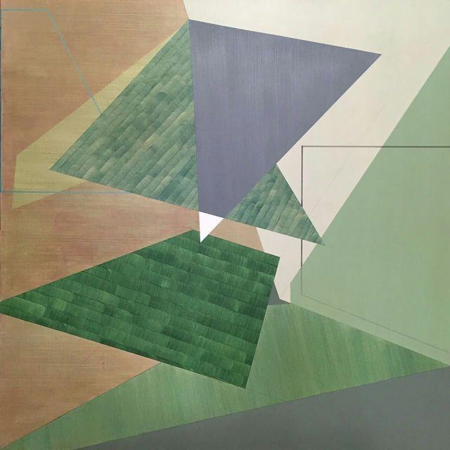 , '一百乘一百的二次分离,' 2015, Beijing Art Now Gallery