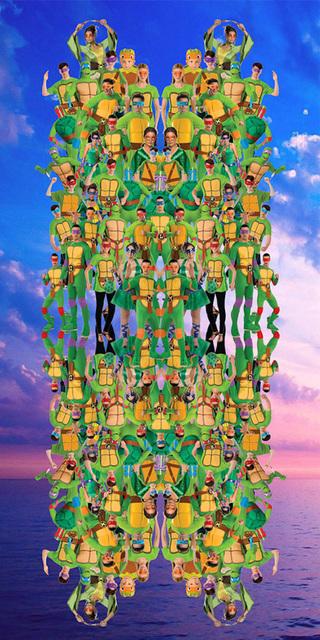 , 'Ninja Turtles,' 2015, Adam Parker Smith