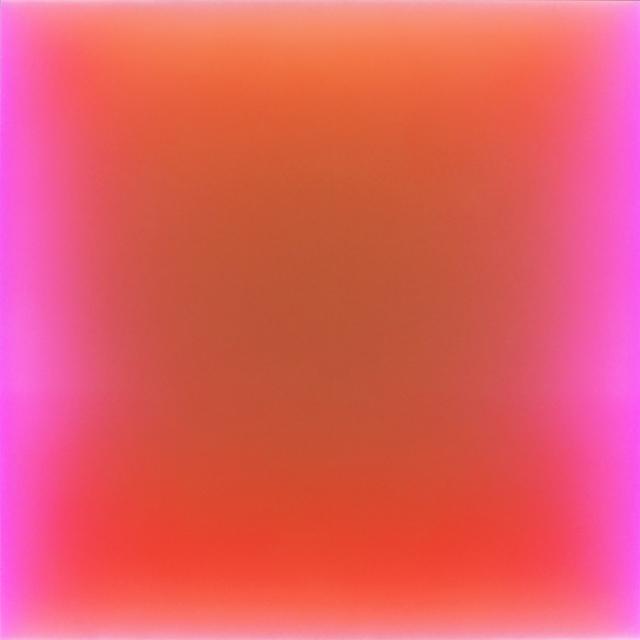 , 'Never Say Never Ever (LED lights change color on artist programed gradience) ,' 2017, Joseph Gross Gallery