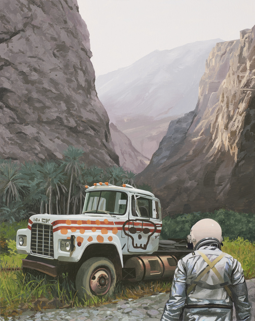 , 'Painted Truck,' 2017, Station 16 Gallery