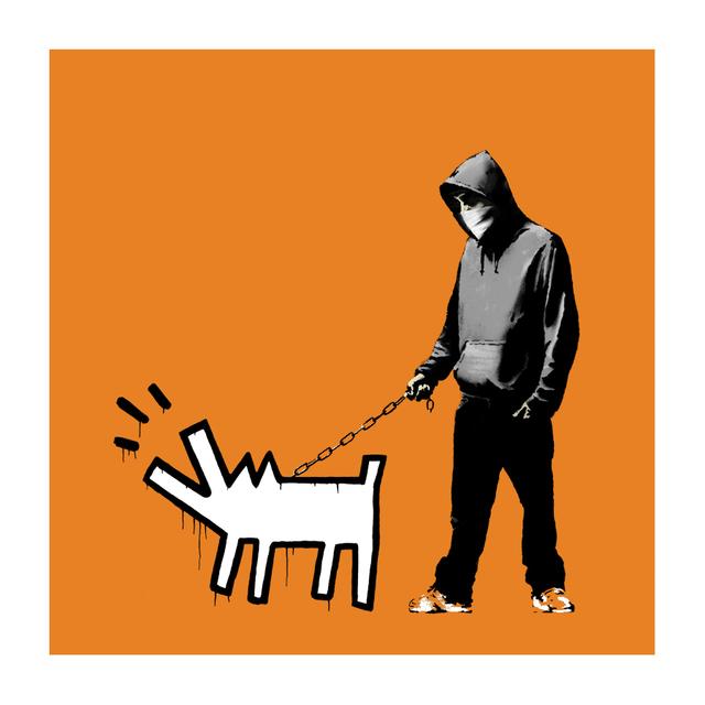 Banksy, 'Choose Your Weapon (Dark Orange)', 2010, Prescription Art