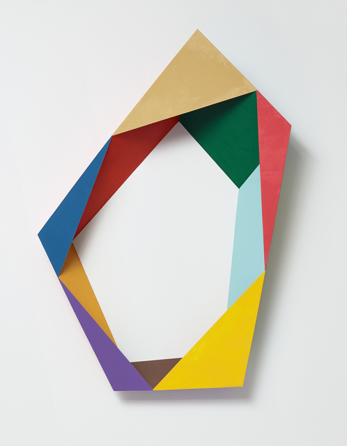 , 'Ungleichseitiges Pentagramm No. 4,' 2016, Taubert Contemporary