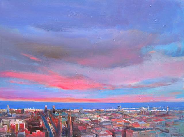, 'Barcelona, Gran Vista al Mar,' 2013, Barnadas Huang