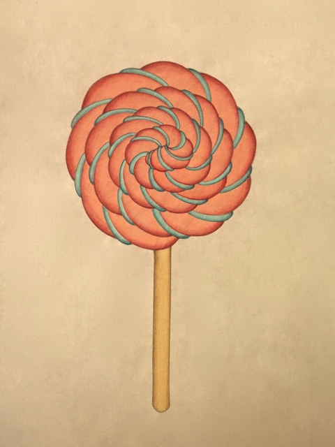 , 'Lollipop_Brown,' 2013, Artflow