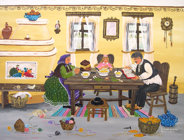 , 'My Family at Dinnertime,' 2004, GINA Gallery