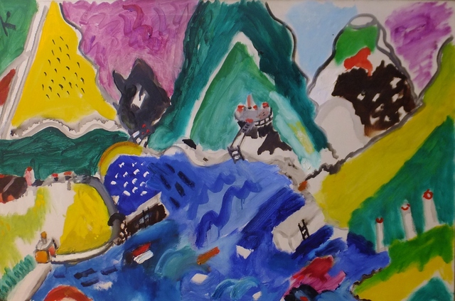 , 'Aegean Landscape,' 1966, Lawrence Fine Art